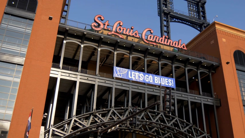 arco : St. Louis Cardinals at Bush stadium- SAINT LOUIS, USA - 19 GIUGNO 2019