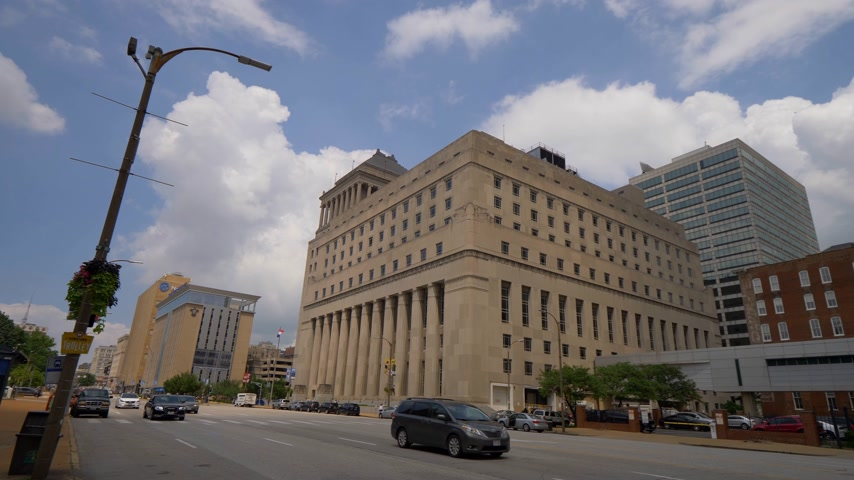 шлюз : Carnahan Courthouse St. Louis City Circuit Court- SAINT LOUIS, USA - JUNE 19, 2019