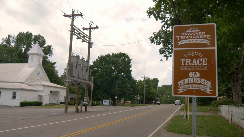 junho : Nashvilles Trace in Tennessee - LEIPERS FORK, TENNESSEE - JUNE 18, 2019