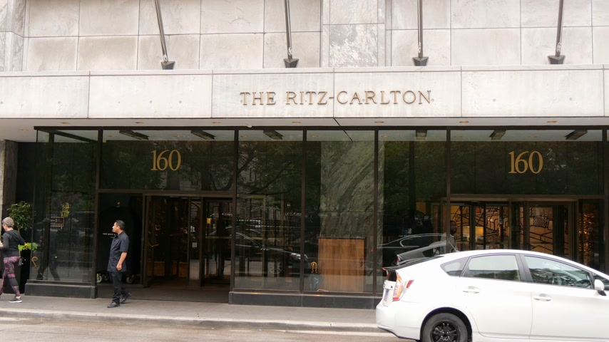 ミシガン州 : Ritz Carlton Hotel in Chicago - CHICAGO, USA - JUNE 14, 2019