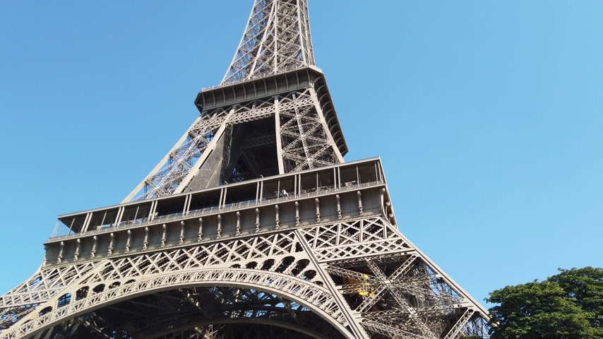 parisian : Famous Eiffel Tower in Paris
