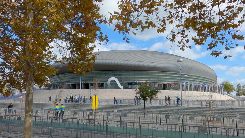 павильон : Lisbon Altice Arena at the park of Nations also called Atlantic Pavilion - CITY OF LISBON, PORTUGAL - NOVEMBER 5, 2019