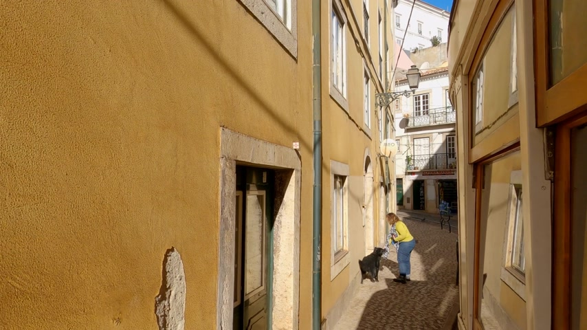 lisboa : The famous historic tram cars in the city of Lisbon