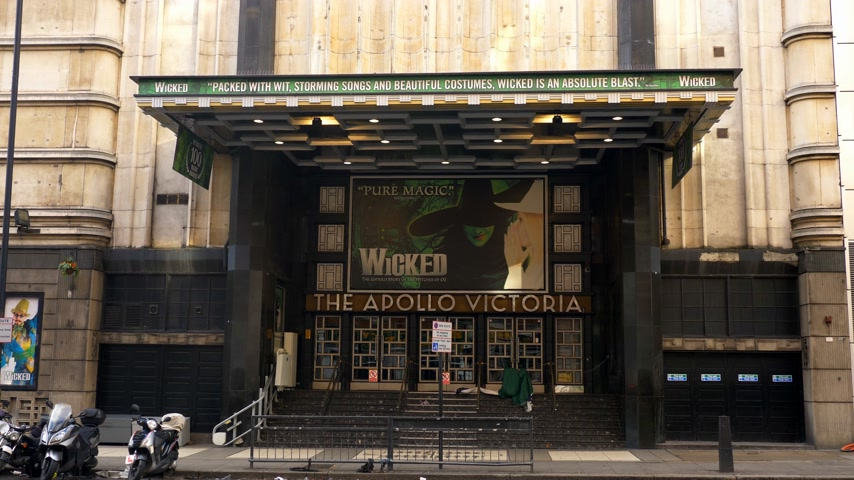 perverso : wicked musical at Apollo Theatre in London - LONDON, ENGLAND - DECEMBER 10, 2019