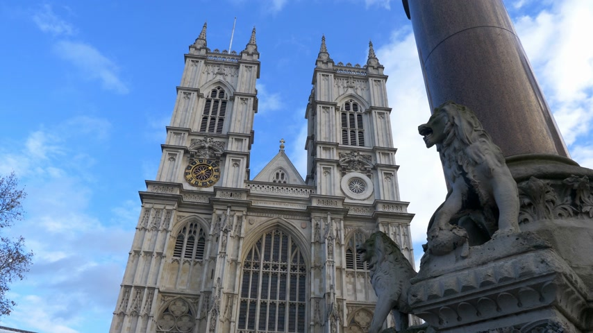 базарная площадь : Westminster Abbey in London - LONDON, ENGLAND - DECEMBER 10, 2019