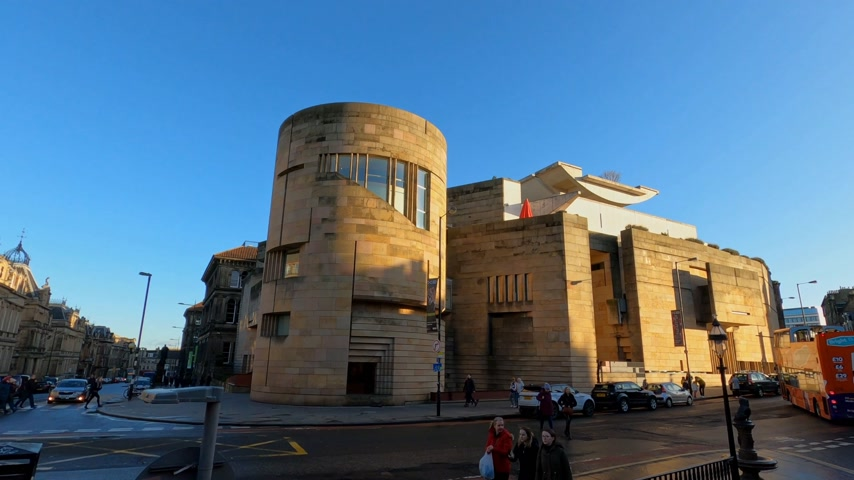 ilgi yeri : National Museum of Scotland in Edinburgh - EDINBURGH, UNITED KINGDOM - JANUARY 11, 2020