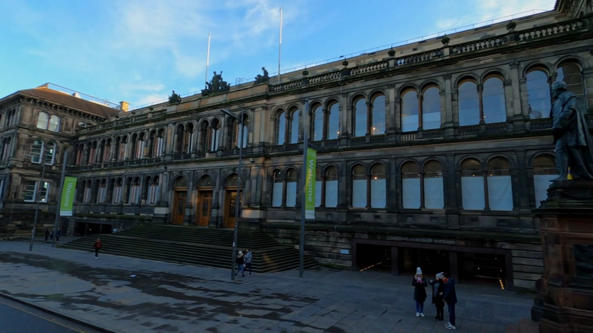 local de interesse : National Museum of Scotland in Edinburgh - EDINBURGH, UNITED KINGDOM - JANUARY 11, 2020