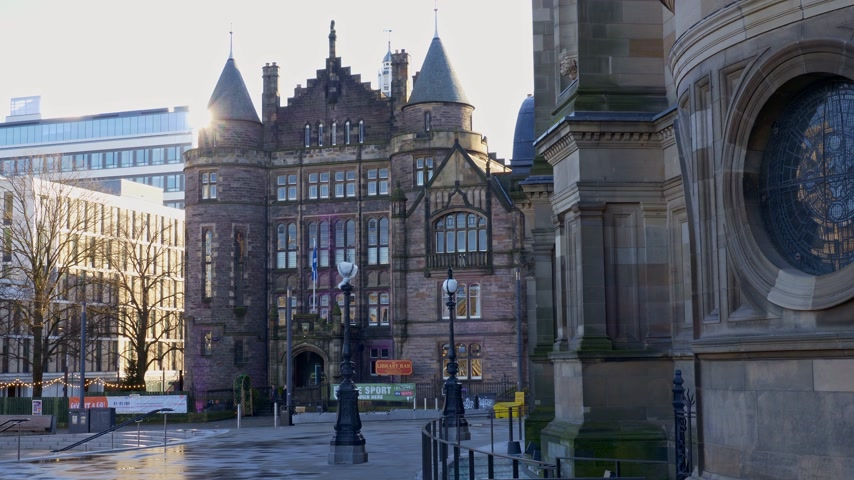 Universiteit van Edinburgh - Bibliotheek - EDINBURGH, SCHOTLAND - 10 JANUARI 2020