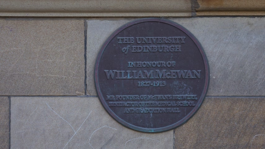 Universiteit van Edinburgh - McEwan Hall - EDINBURGH, SCHOTLAND - 10 JANUARI 2020