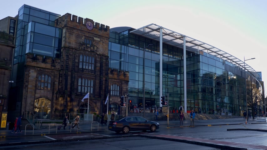 Omni Centre in Edinburgh - EDINBURGH, SCOTLAND - JANUARY 10, 2020