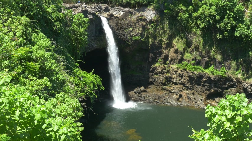 hawai : Rainbow Falls, Big Island Hawaii