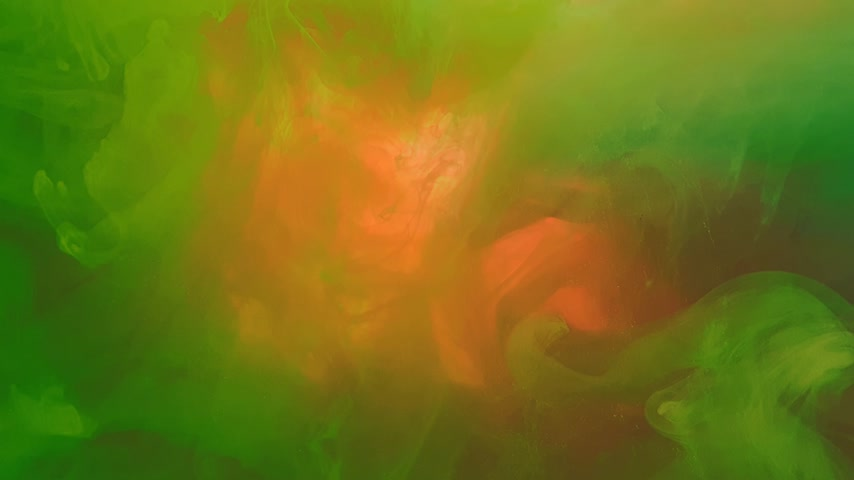 4k. A beautiful mixture of acrylic ink in water. Ink streams of rainbow colors form abstract clouds when mixed. Acrylic clouds on a white background. Slow motion 動画素材