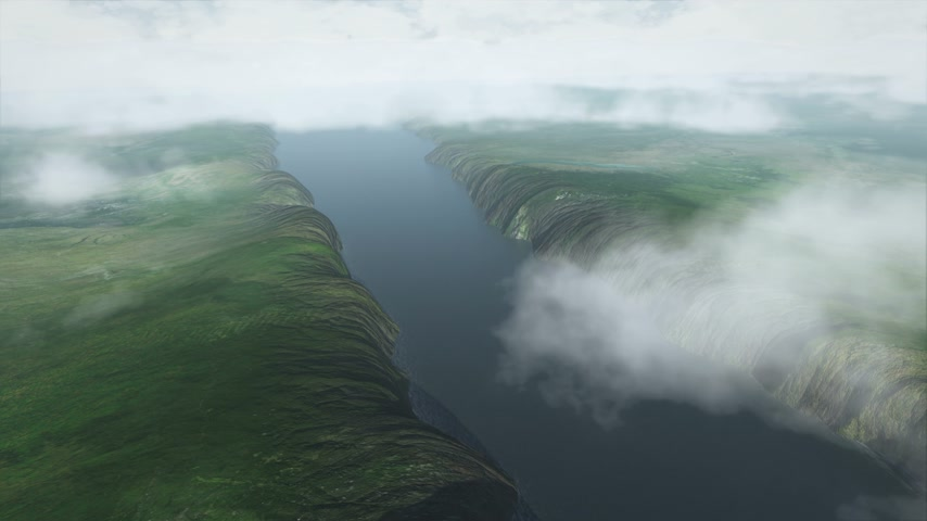 местность : This is how mountains are formed, aerial timelapse UHD