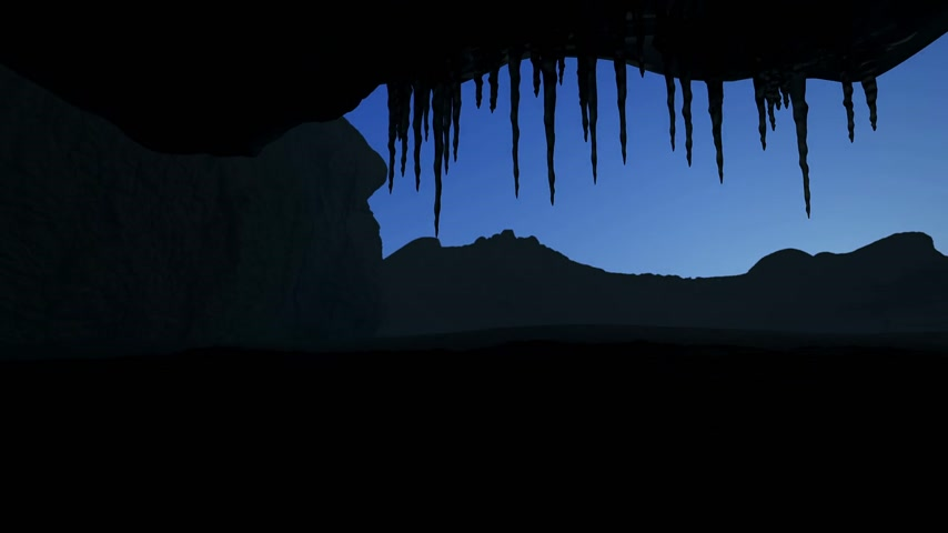 Ice Cave Timelapse
