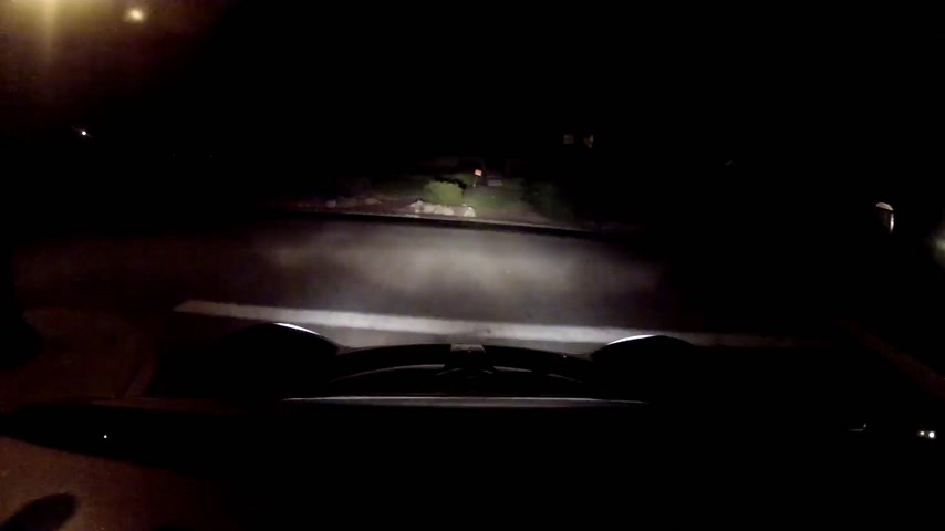 loto : Night Drive - Time Lapse Filmati Stock