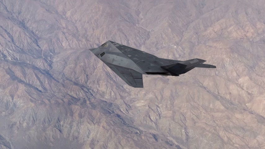 busqueda y rescate : Stealth Type Fighter