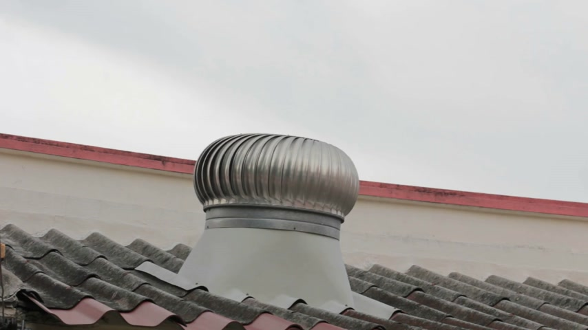 tető : Ventilation pipe on a roof