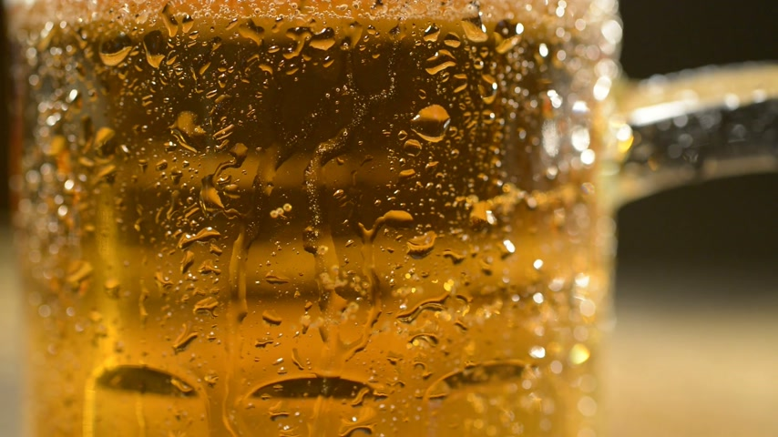 dewy : detail of beer