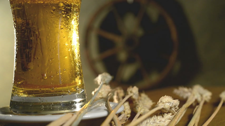 beer tap : wheat and beer