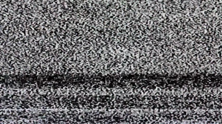 sinais : TV screen no signal, static noise and TV static fill the screen (Loop). HD Vídeos