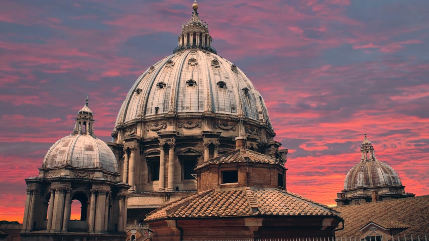 obra prima : The magnificent Cathedral of St. Peter in the Vatican.