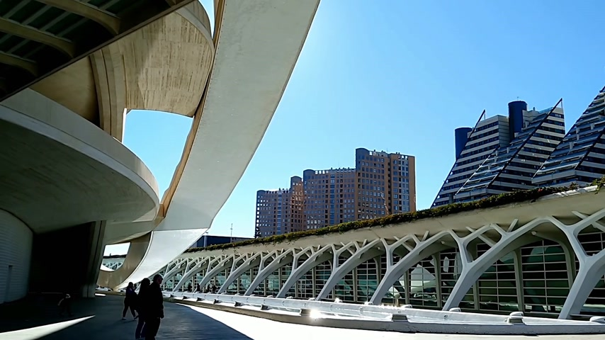 anlamlı : City of Arts and Sciences in Valencia, Spain