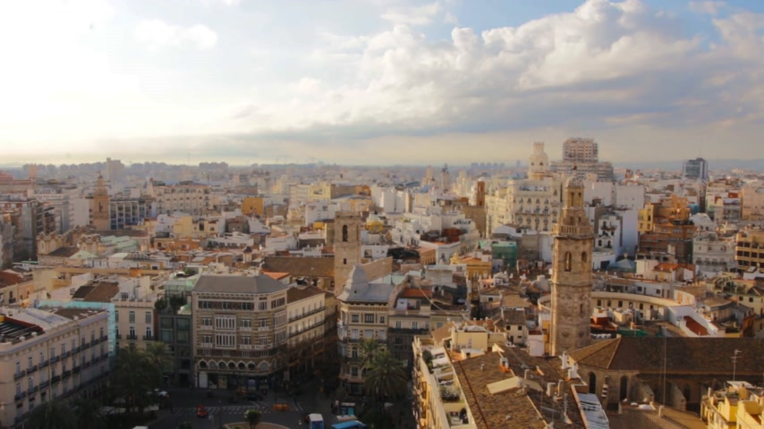 Валенсия : Beautiful Spanish city of Valencia. Photos of the historic center.