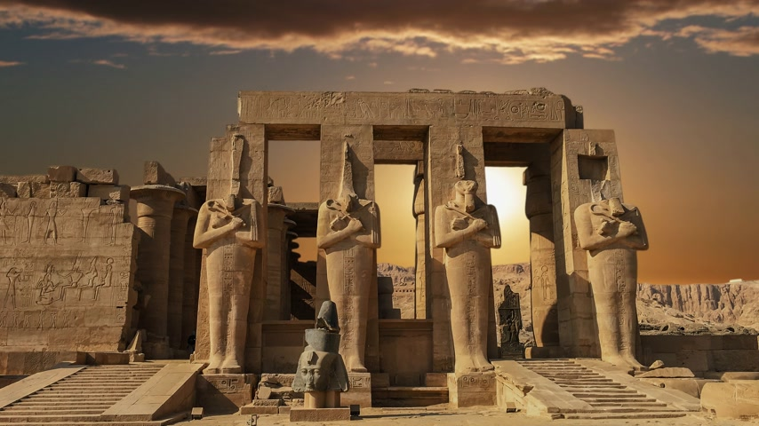 kultusz : Ruins of the beautiful ancient temple of Karnak in Luxor