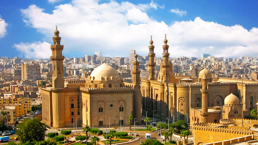 cara : The old mosque is located in Cairo, the capital of Egypt.