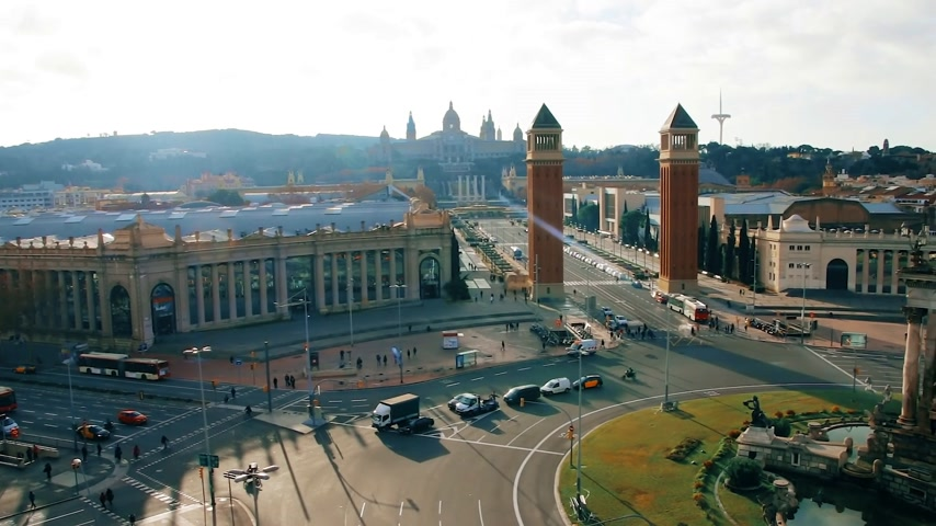 королева : View of the Plaza of Spain