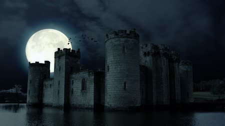 wampir : Full moon over evil demon vampire Castle
