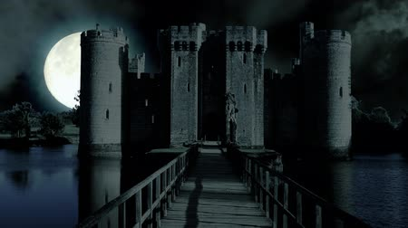 temető : Full moon over evil demon vampire Castle