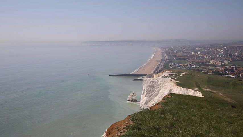 Seaford East Sussex costa sureste de Inglaterra Reino Unido