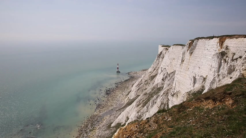 Beachy Head England UK near Eastbourne in the South Downs National Park one of the most notorious suicide spots in the world