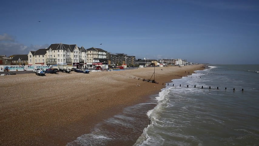 Playa Bognor Regis West Sussex Inglaterra Reino Unido