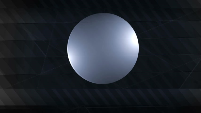 Background animation: Bars and Sphere