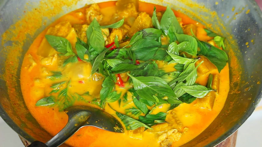 italozás : Thai style cooking Stock mozgókép