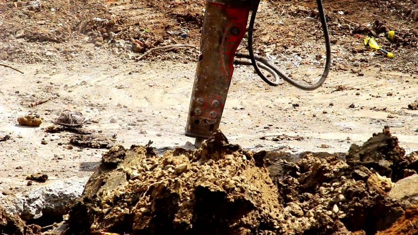 guincho : Construction site with work area Stock Footage