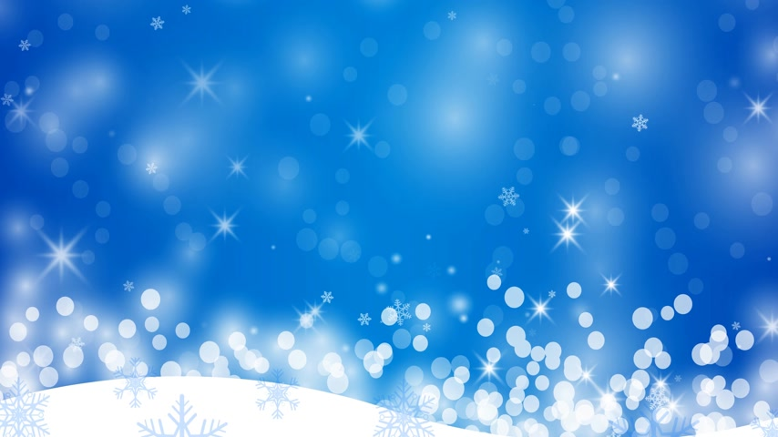 non us location : Winter background with snowflakes Stock Footage