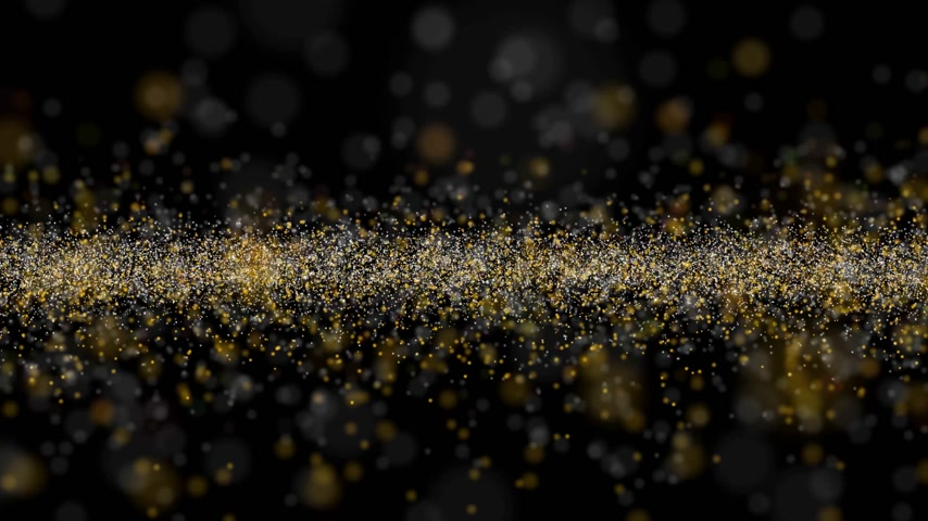 Glittering particles wave abstract background Vídeos