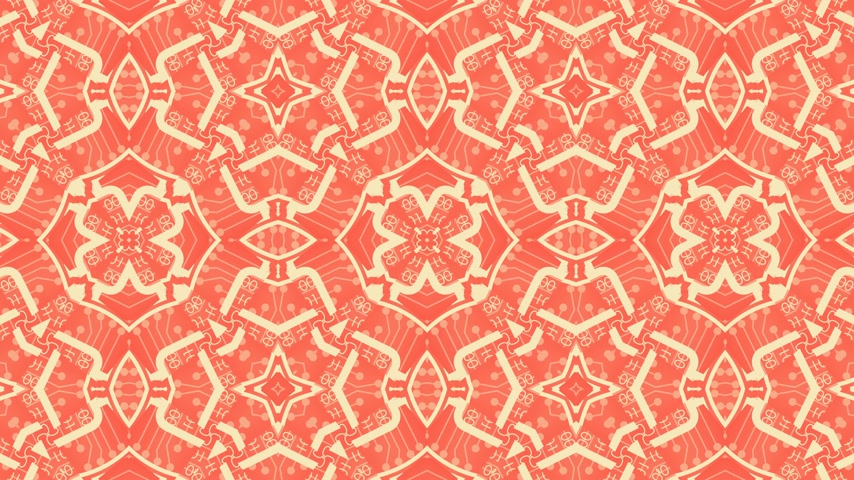ábécé : Kaleidoscope seamless loop patterns animattion abstract multicolored motion graphics background.