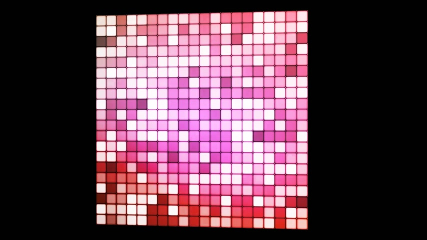 cubos : Broadcast Hi-Tech Twinkling Spinning Cube 02