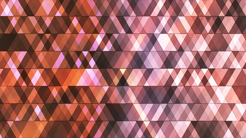 interseção : Broadcast Twinkling Hi-Tech Diamonds, Brown, Abstract, Loopable, 4K Stock Footage