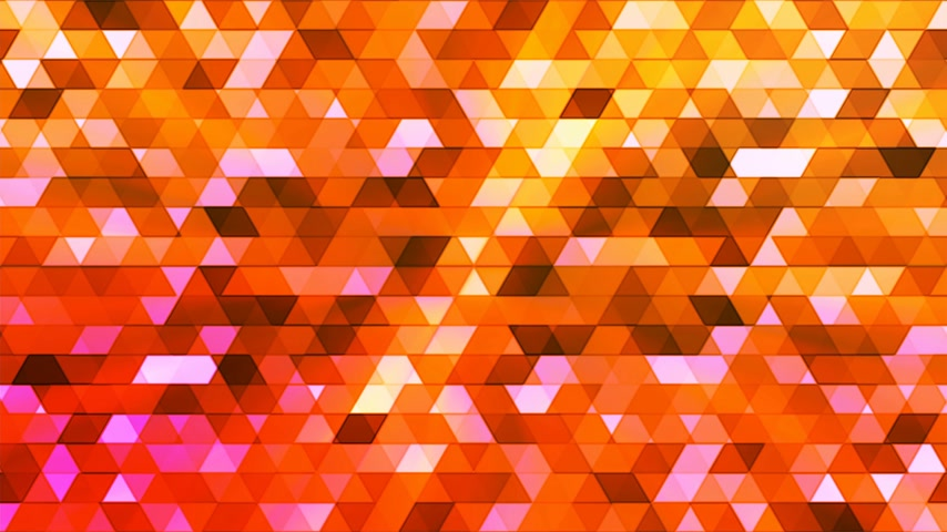 interseção : Broadcast Twinkling Polygon Hi-Tech Triangles, Orange, Abstract, Loopable, 4K
