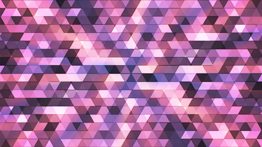 interseção : Broadcast Twinkling Polygon Hi-Tech Triangles, Purple, Abstract, Loopable, 4K
