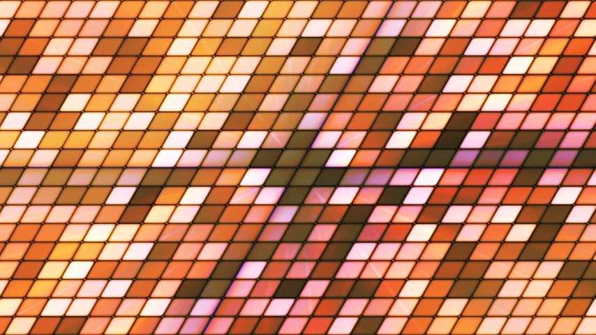 sc : Broadcast Twinkling Slant Hi-Tech Cubes, Brown, Abstract, Loopable, 4K Stock Footage