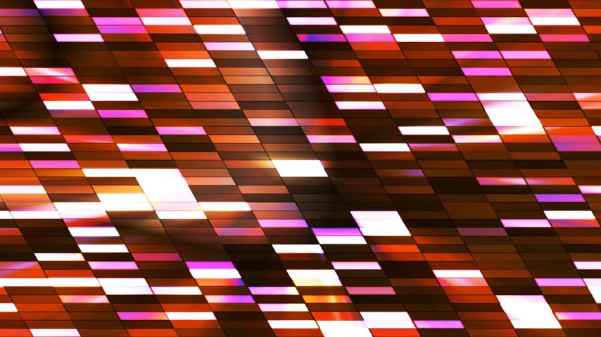 interseção : Twinkling Horizontal Slant Hi-Tech Small Bars, Multi Color, Abstract, Loopable, 4K Stock Footage
