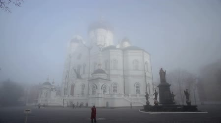 baptized : Christianity. Russian Orthodox Church in the autumn