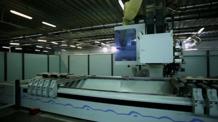 мебель : Manufacture of furniture. High-tech automated machine for production of furniture