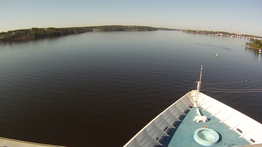 парусный спорт : Stockholm Sail Away Time Lapse